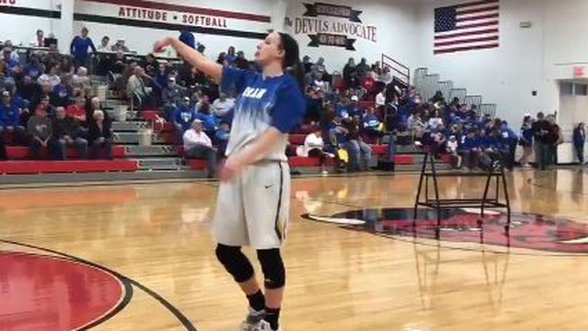 Oran's Cauble breaks all-time scoring record for high school basketball in MO