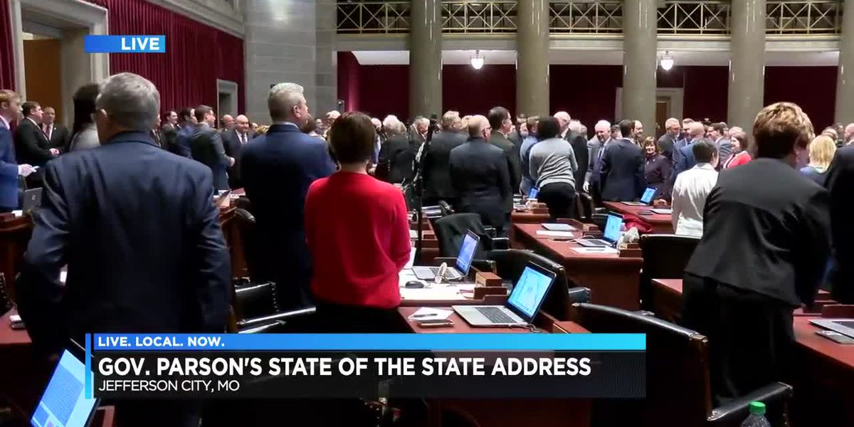 Gov. Parson delivers State of the State address
