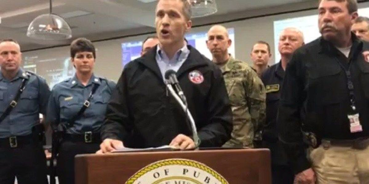 MO Governor Greitens: 2 dead statewide, MO Nat. Guard activated