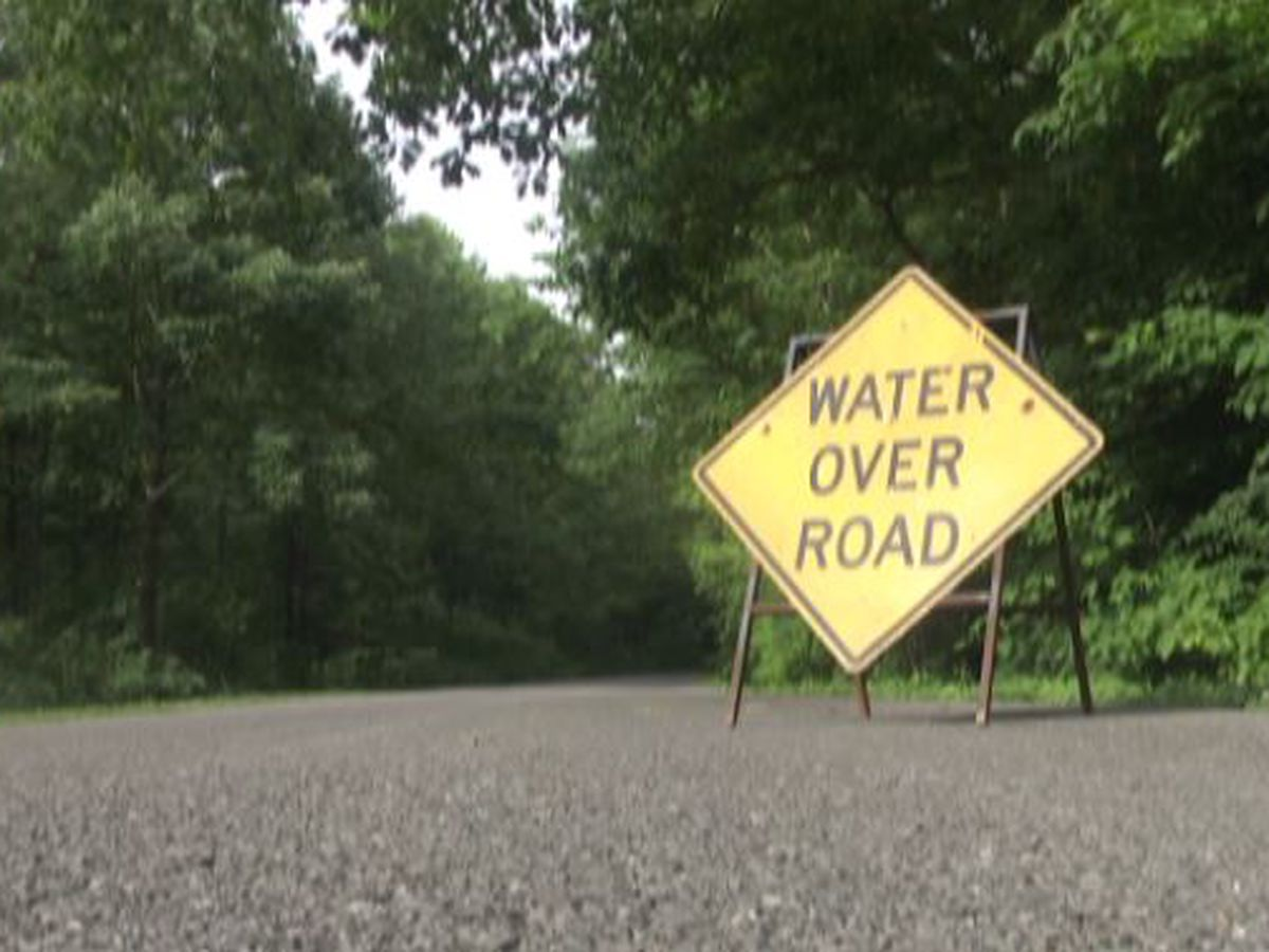Roads closed due to flooding in the Heartland