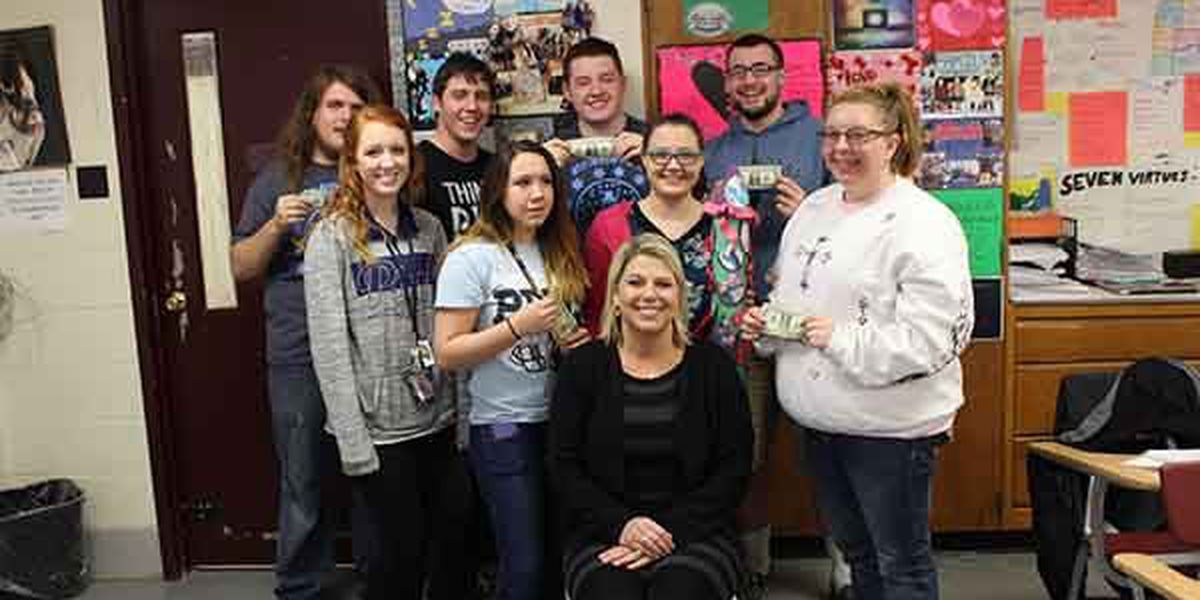 Poplar Bluff students donate $10 each for class project