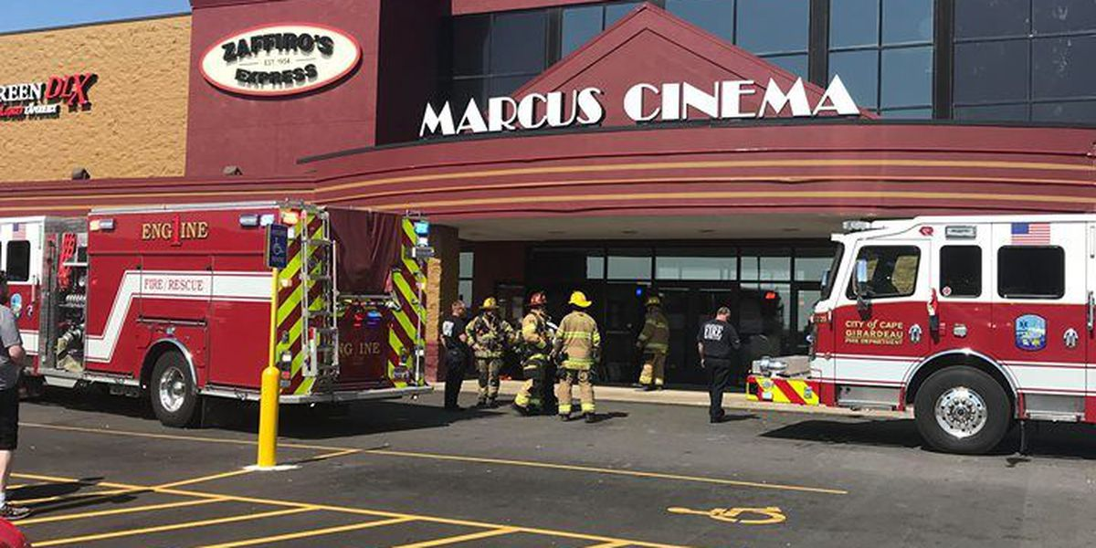 Cape Girardeau officials respond to report of smoke at Marcus Cinema