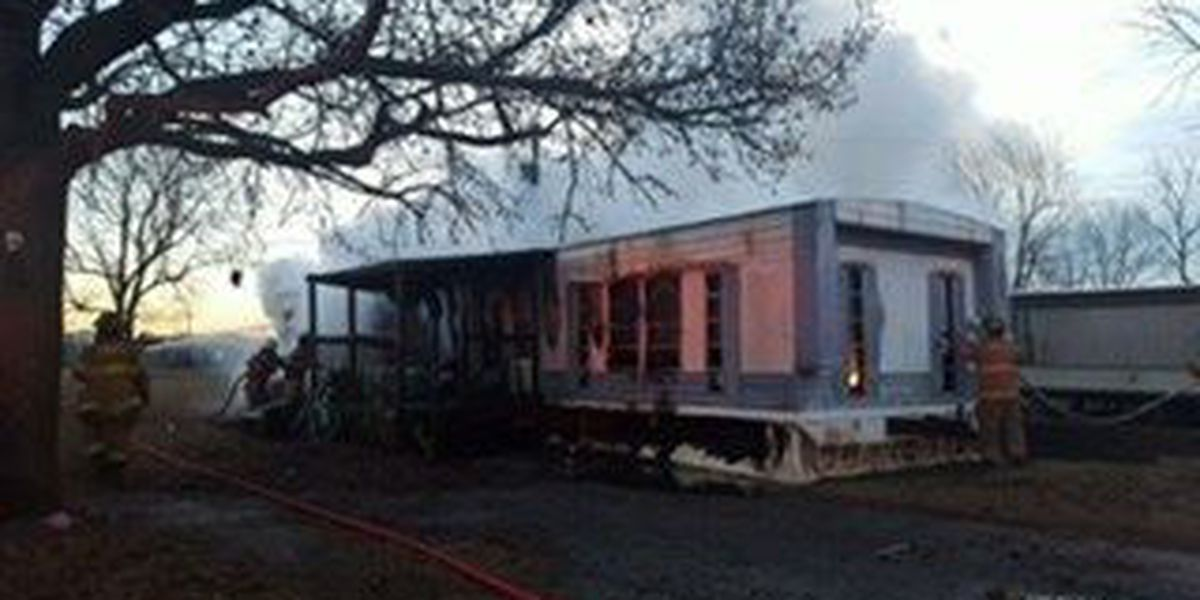 Trailer in Miner destroyed by fire