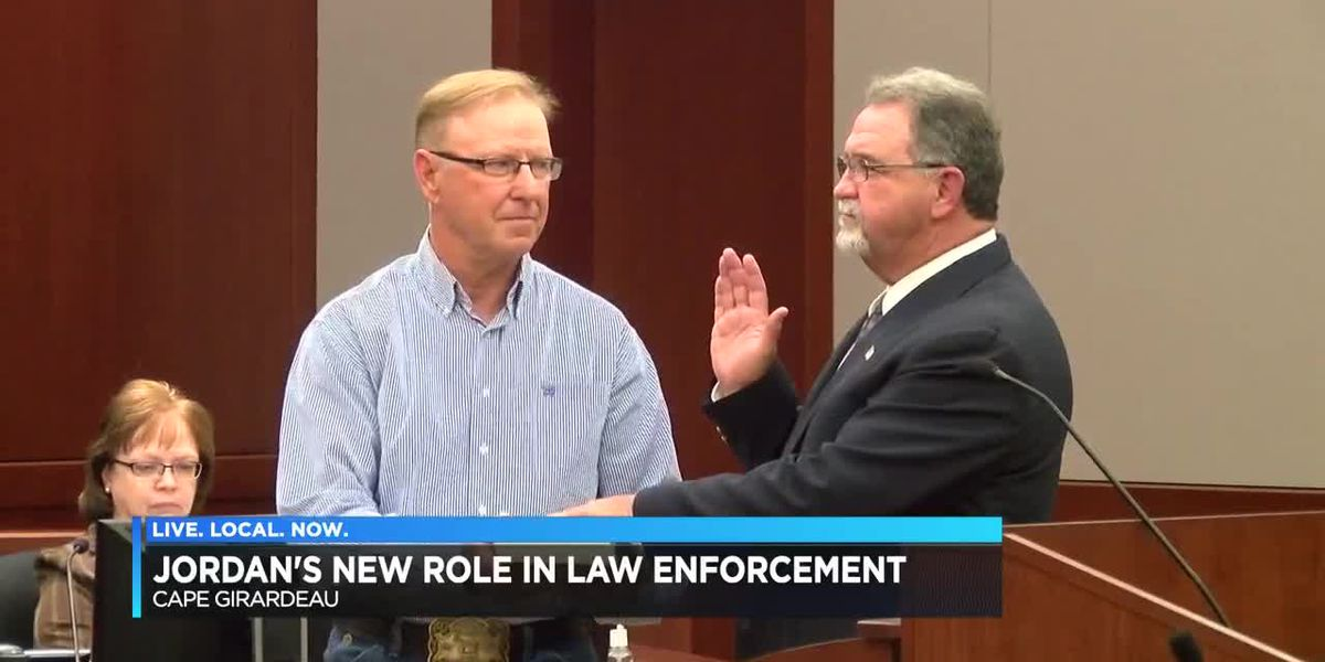 Former Cape Girardeau Co. sheriff Jordan sworn in as U.S. Marshal