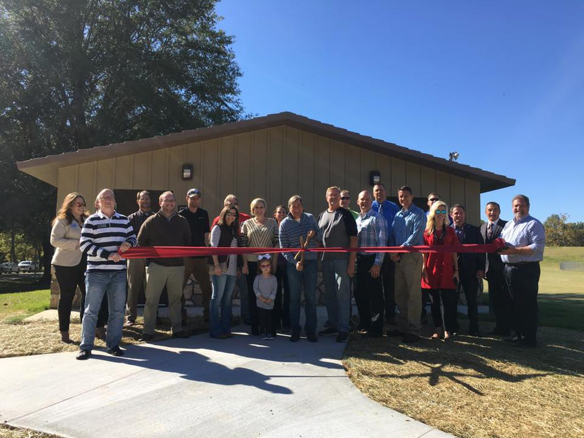 Ribbon cutting ceremony held for Jackson Park Restroom Building Project
