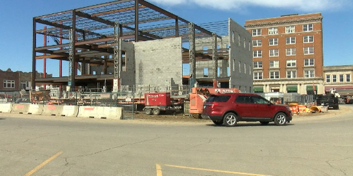 Construction continues on new Franklin County, Ill. courthouse