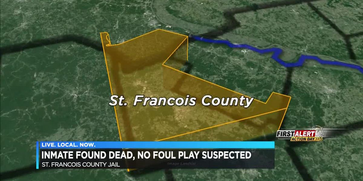 Inmate found dead at St. Francois County Jail