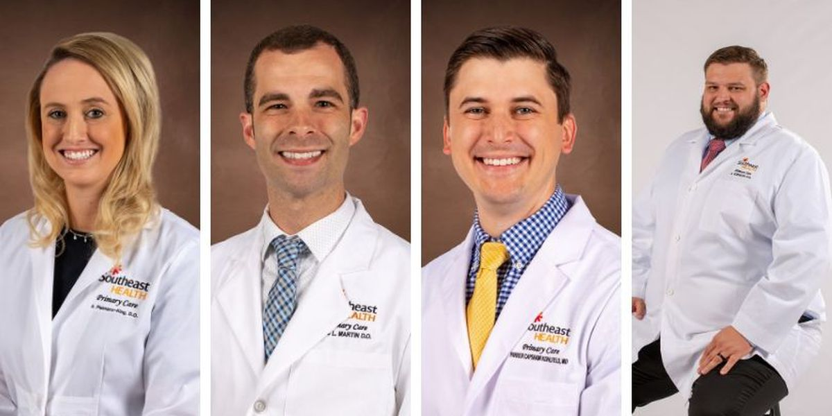 SoutheastHEALTH adds 4 new family doctors
