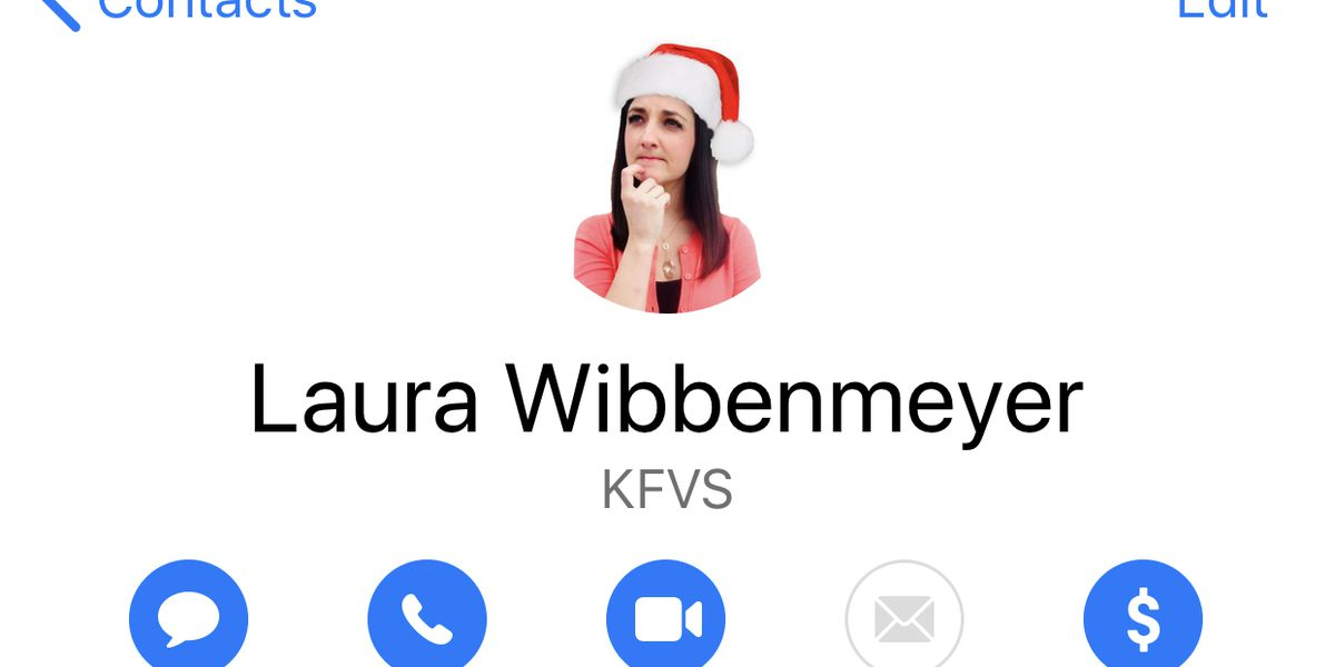 Life Hacks with Laura: Update your phone contact photos with Christmas cards