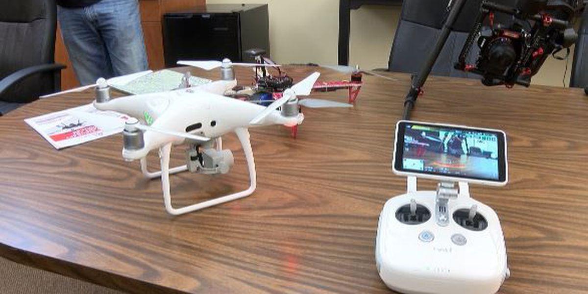 Drone pilot license prep training at Southeast Missouri State University