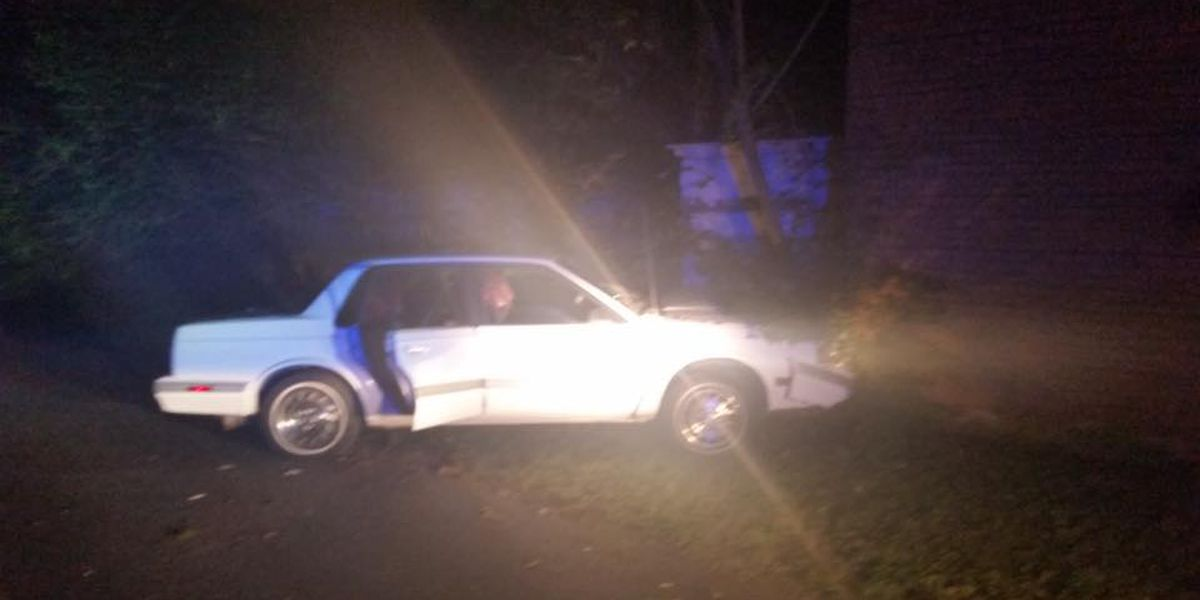 Man charged with DUI after crashing into McCracken Co. building