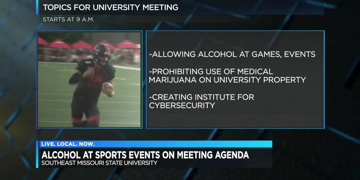 SEMO board to consider beer, wine sales at athletic events