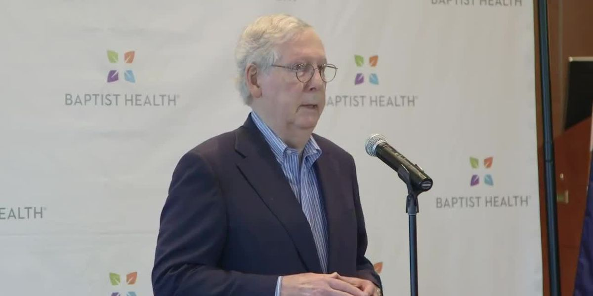 Sen. McConnell visited Paducah, discussed vaccine distribution, COVID-19 relief