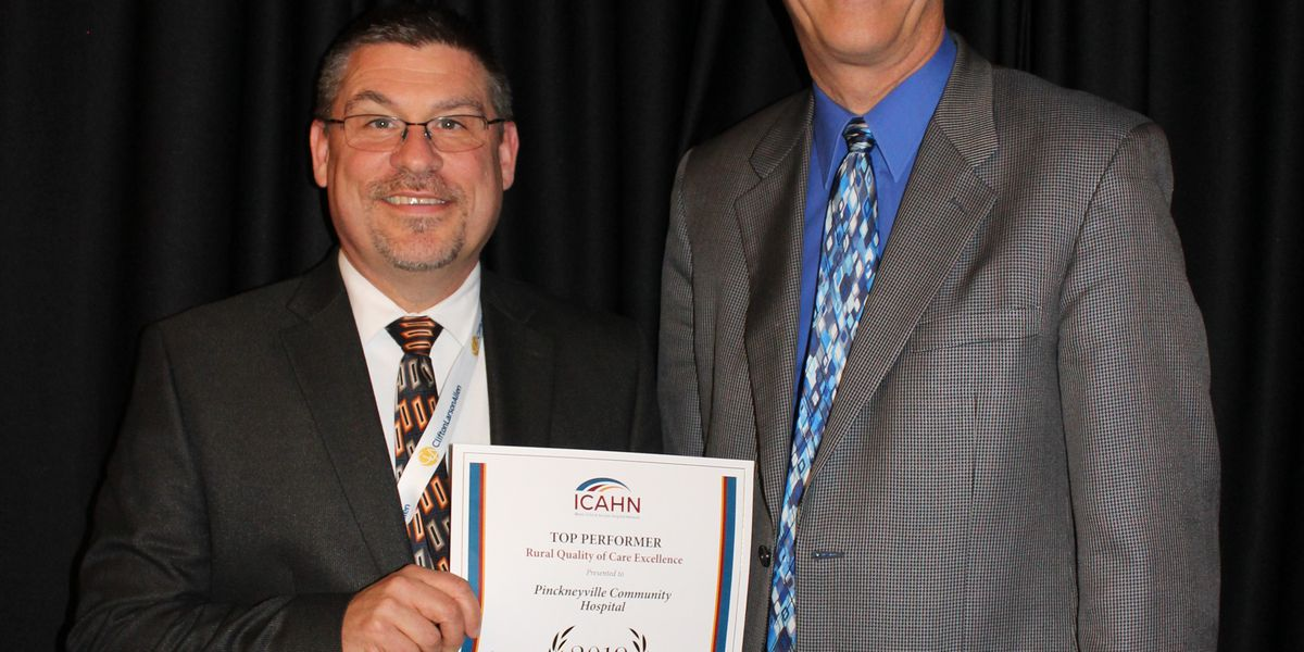 Pinckneyville Community Hospital honored for excellence