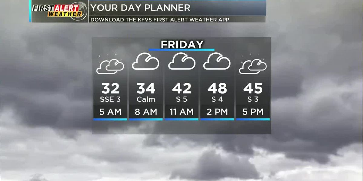 First Alert: Another chilly start ahead of rainy weather