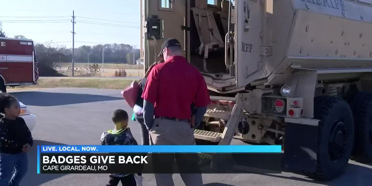 First responders give back