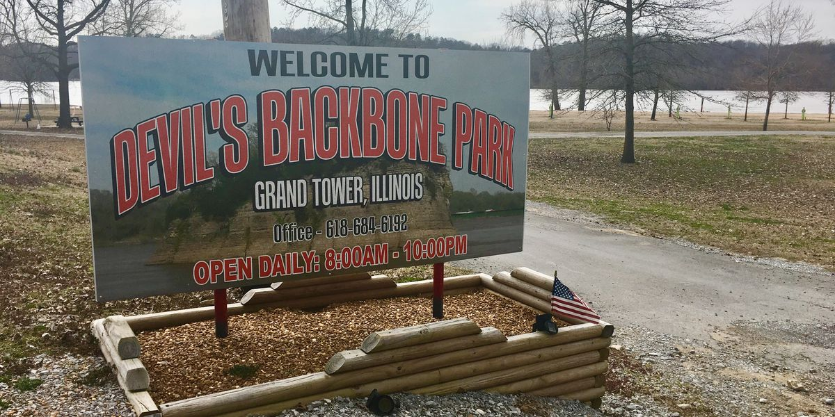 Grand Tower officials worry Mississippi River high water may impact Devil's Backbone Park