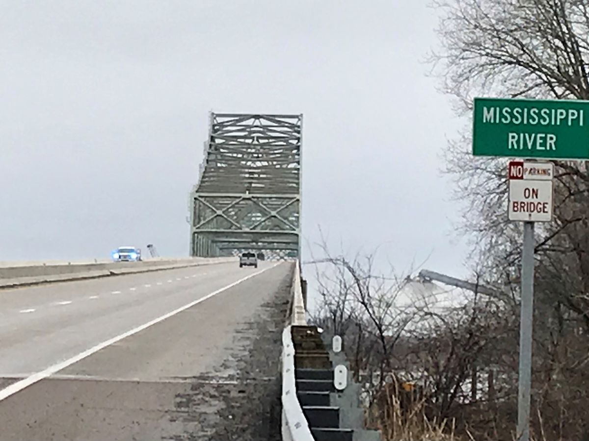 I-155 reopened after bridge inspection; barges hit Mississippi River bridge at Caruthersville, Mo.