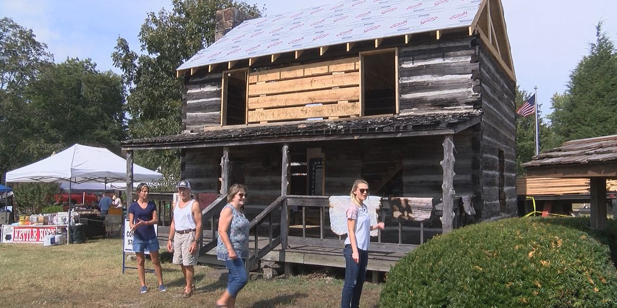 29th Pioneer Days kicks off, iconic cabin being restored