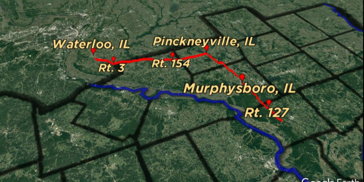 Southern Illinois counties say there's a need for a four lane expressway