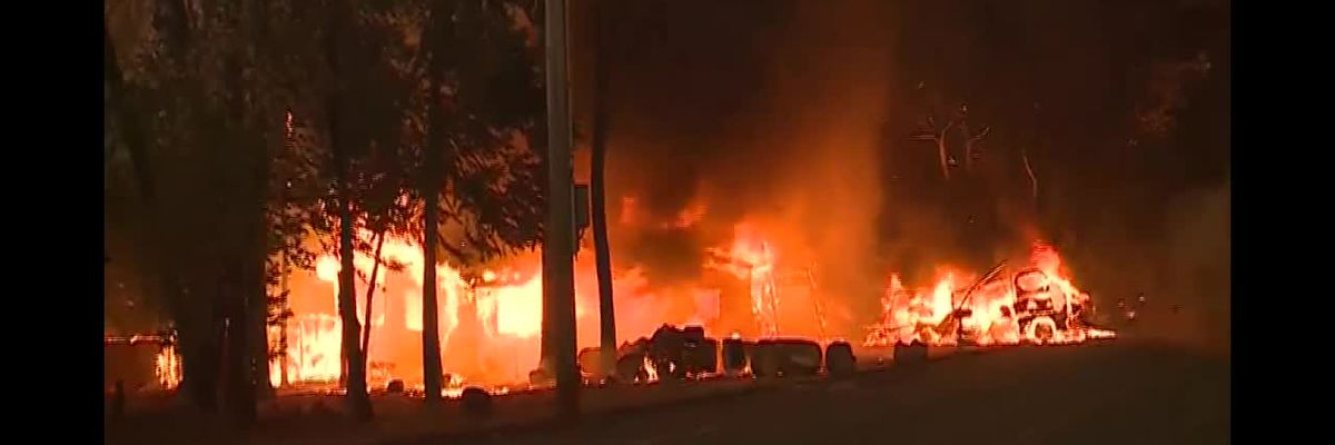 Deadly California wildfires continue burning