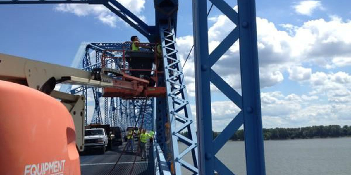 Crews to begin beam repair on Brookport Bridge