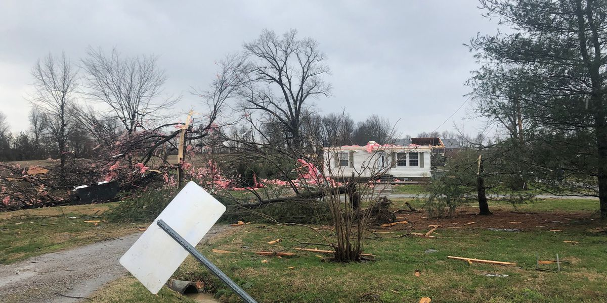 State of Emergency declared for Ballard, McCracken Counties due to tornado damage
