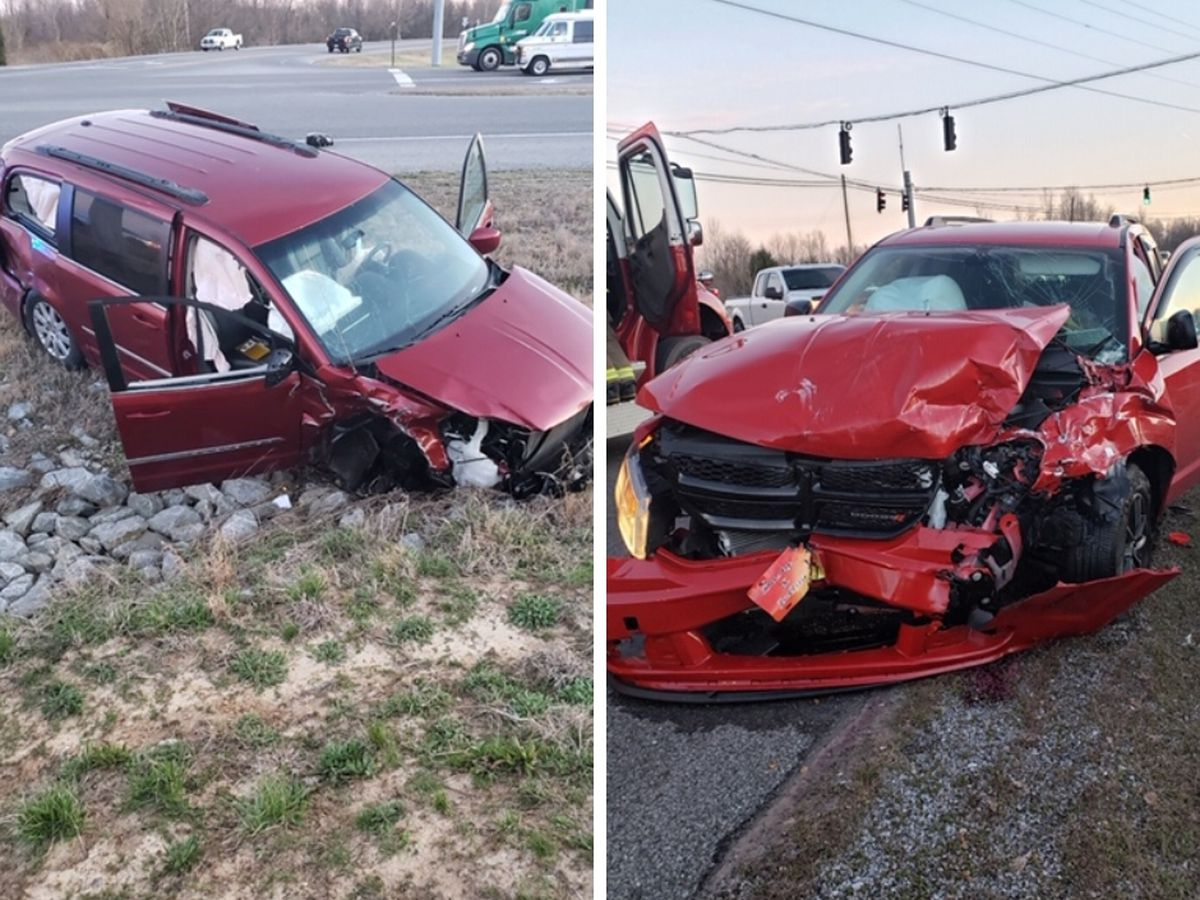 3 injured in McCracken Co. crash at intersection of 60, Metropolis Lake