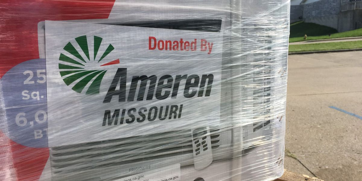 Portageville, Mo. residents get air-conditioners from Ameren