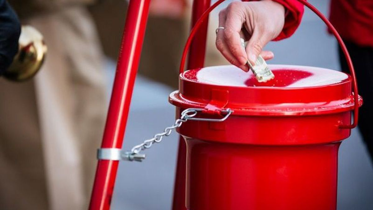 11/29/18: listen for the bells at the Red Kettles