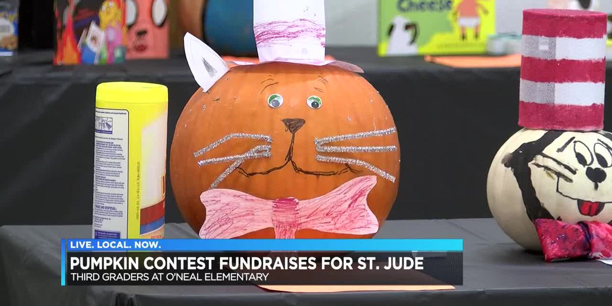 Pumpkin contest raises money for St. Jude's