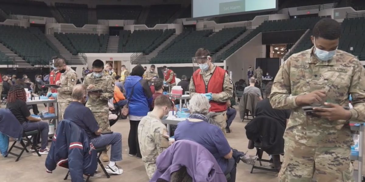 Parson scales back Missouri National Guard COVID-19 vaccine support