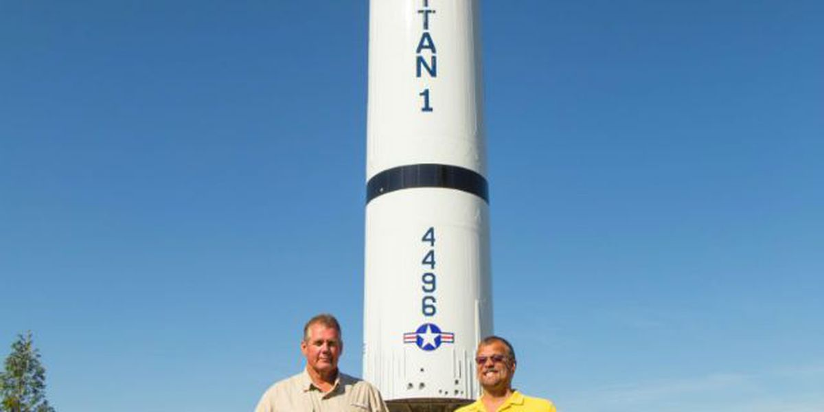 New display at Discovery Park of America is a Titan One Missile