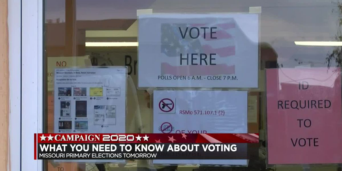What you need to know before the Mo. Primaries