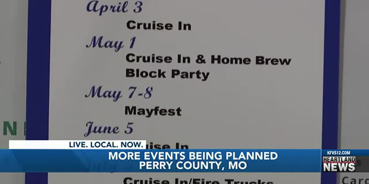 Tourism events scheduled for 2021 in Perry Co., Mo.