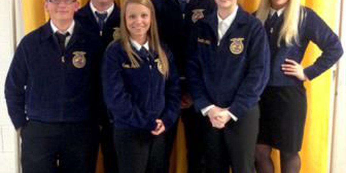 FFA students participate in student convention