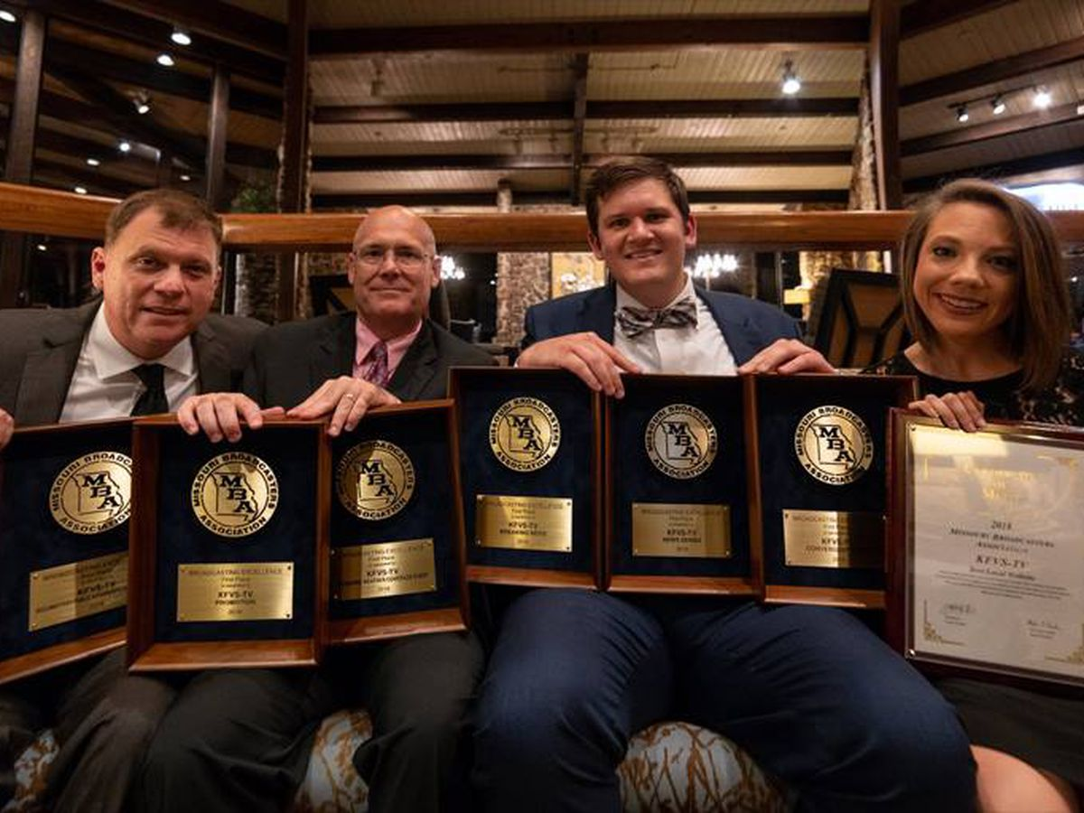 KFVS12 receives Missouri Broadcasters' honors