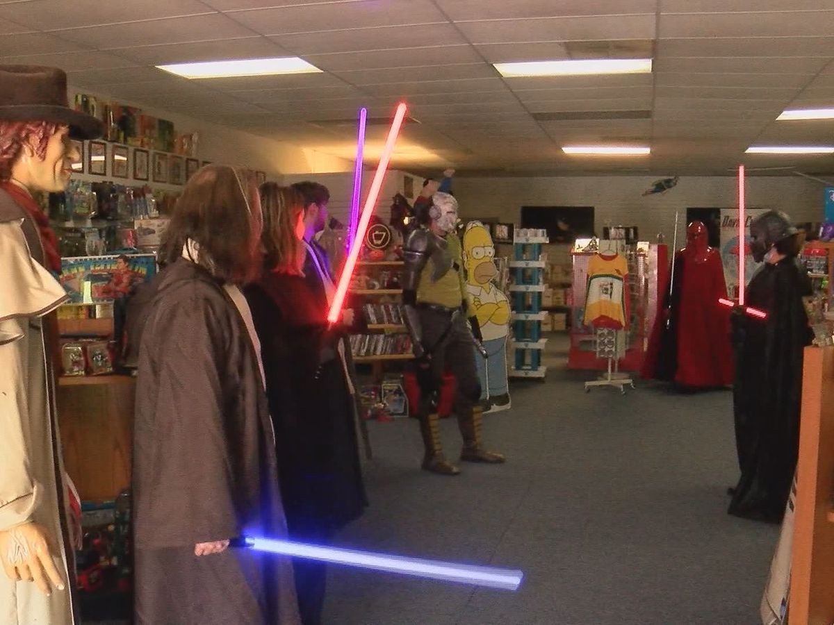 Metropolis novelty store celebrates Star Wars Day