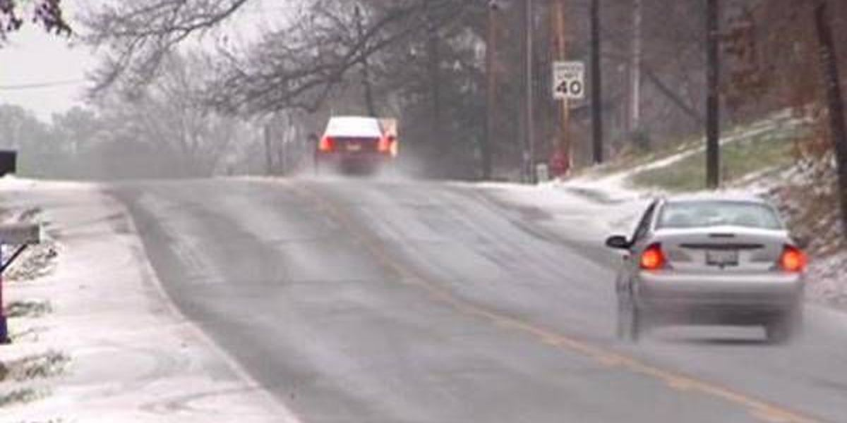 Jackson Co. Sheriff's Office responds to 9 weather-related crashes
