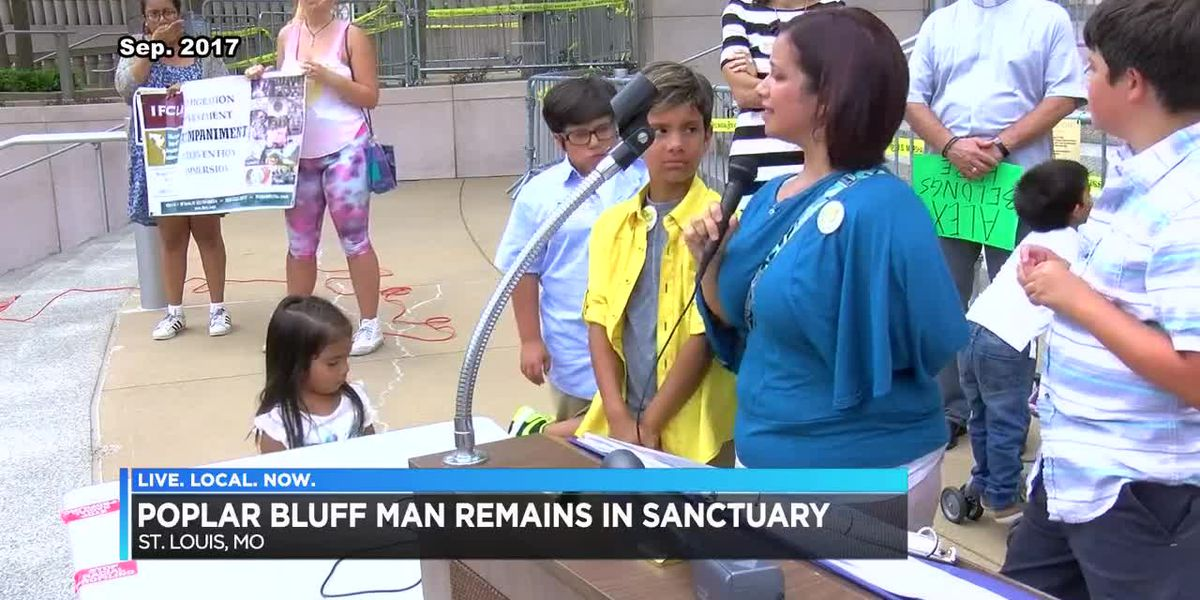 Poplar Bluff man still in sanctuary a year later