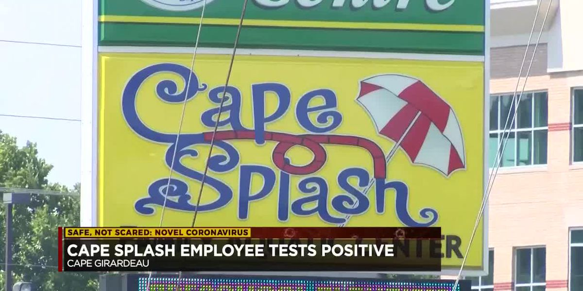 Cape Splash closed due to employee testing positive for COVID-19