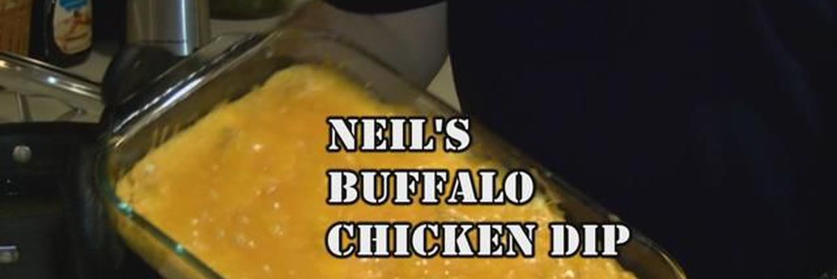 Heartland Cooks - Neil's Buffalo Chicken Dip
