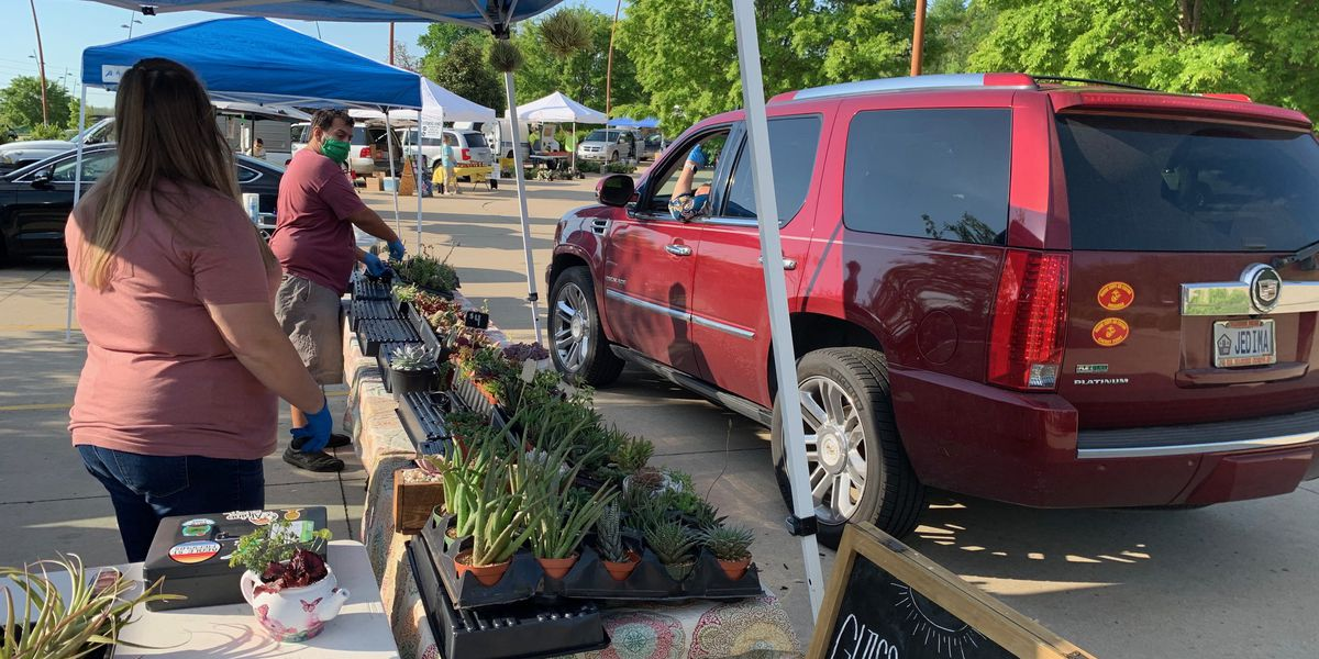 Cape Riverfront Market opens as drive-thru only at new temporary location
