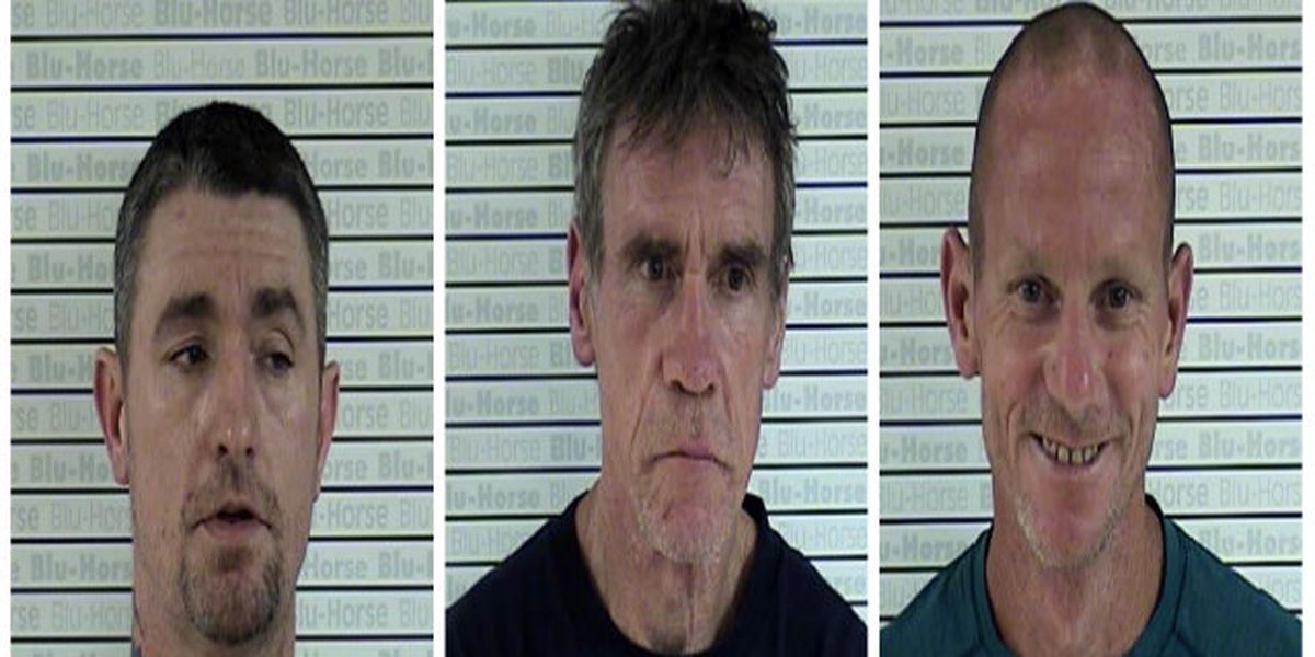 3 arrested after meth investigation at Mayfield home