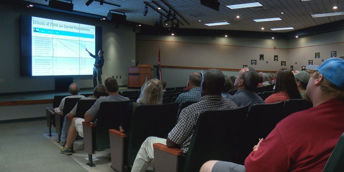 Hunters, land owners learn about preventing a deadly deer disease