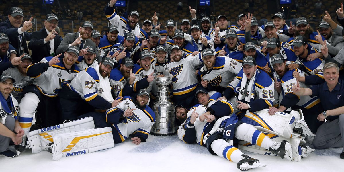 Gov. Parson declares June 15 as St. Louis Blues Day throughout Missouri