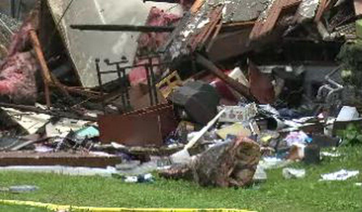 Ohio home explodes