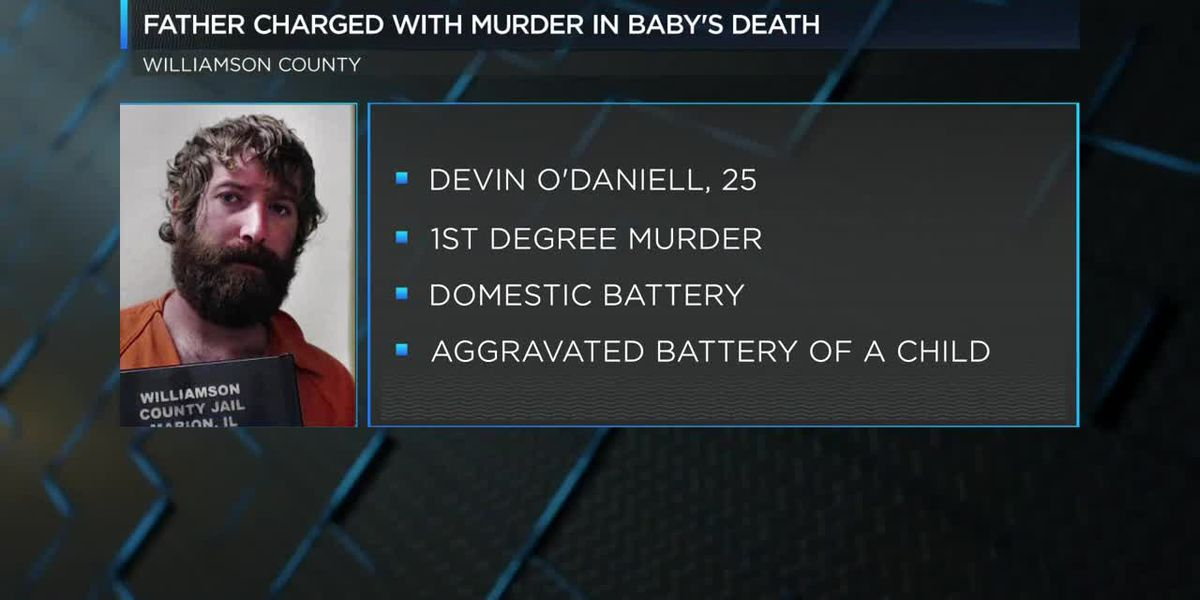 Father facing murder charge in death of 3-month-old
