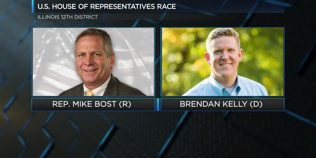 Debate set for Mike Bost and Brendan Kelly