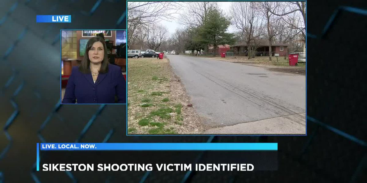 Sikeston shooting victim identified